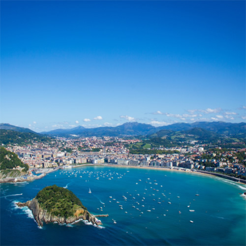 how to go from san sebastian to bordeaux