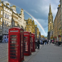 Edinburgh - London - Dublin by Air